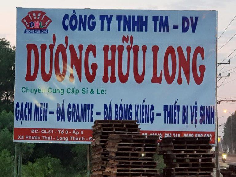 showroom Dương Hữu Long ở long thành Đồng Nai